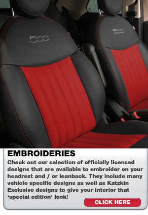 Katzkin Leather Seat Embroideries | ShopSAR.com