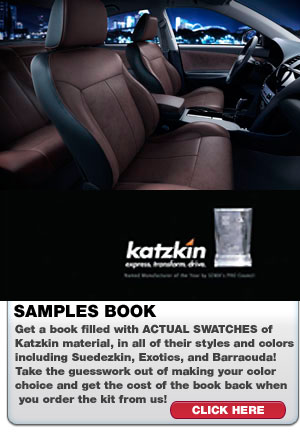 Katzkin Leather Samples Book | ShopSAR.com