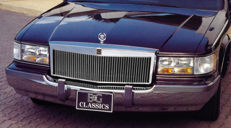 Cadillac Fleetwood Chrome Grille