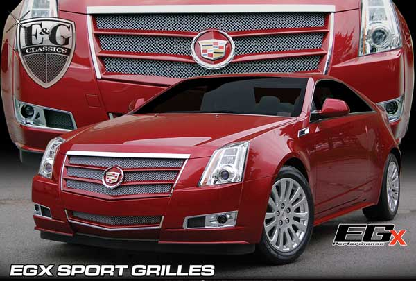 Cadillac CTS Painted Sport Grille