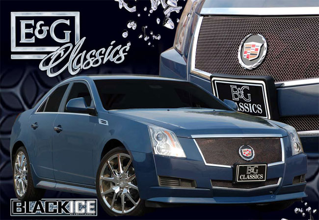 Cadillac CTS Black Ice Mesh Grille