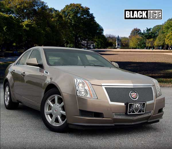 Cadillac CTS Black Ice Fine Mesh Grille