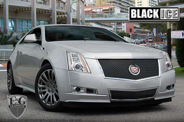 Cadillac CTS Black Ice Heavy Mesh Grille