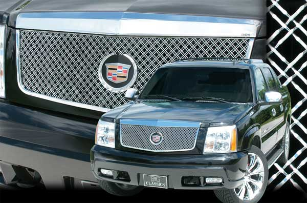 Cadillac Escalade Dual Weave Mesh Grille