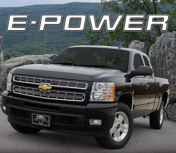 Chevy Silverado Chrome E Power Grille