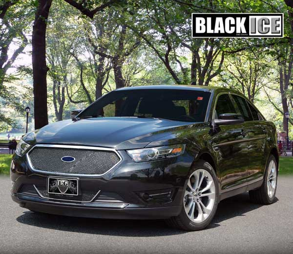 Ford Taurus Black Ice Mesh Grille