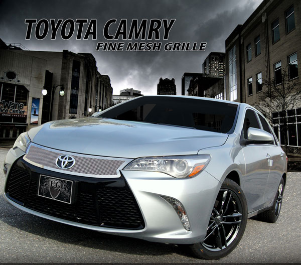 2016 Toyota Camry Xse >> Toyota Camry Fine Mesh Grille by E&G CLASSICS, 2015, 2016, 2017 | ShopSAR.com