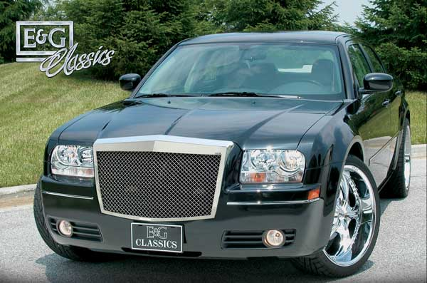 Chrysler 300 Classic Heavy Mesh Grille By E Amp G Classics