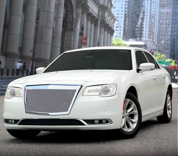 Chrysler 300 Heavy Mesh Grille