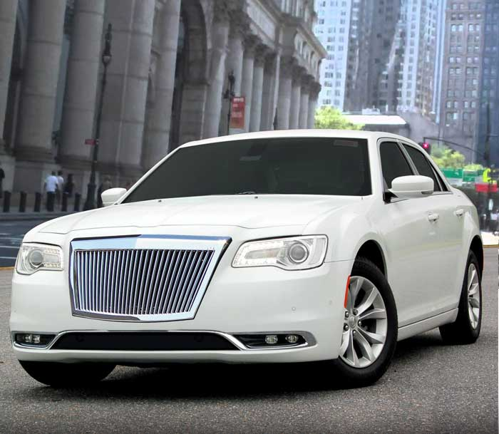 Chrysler 300 Vertical Bar Grille