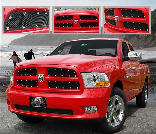 Dodge Ram E-Power Mesh Grille