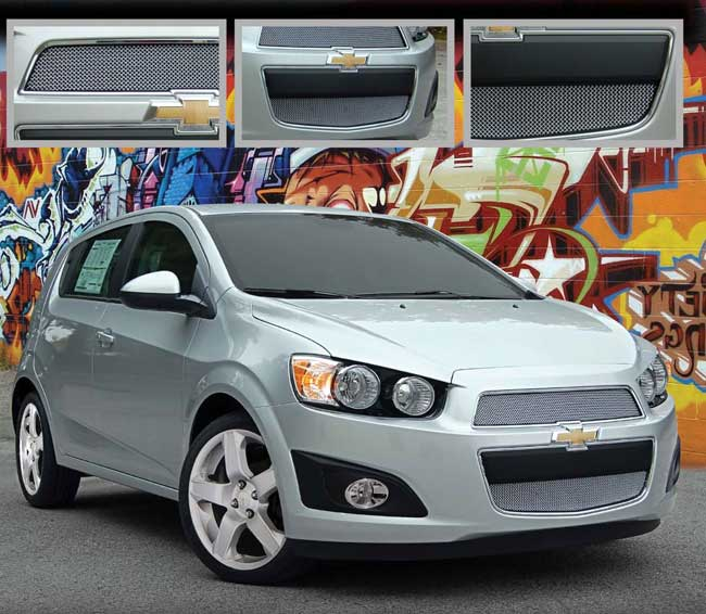 Chevy Sonic Mesh Grille