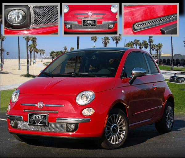 Fiat 500 Mesh Grille