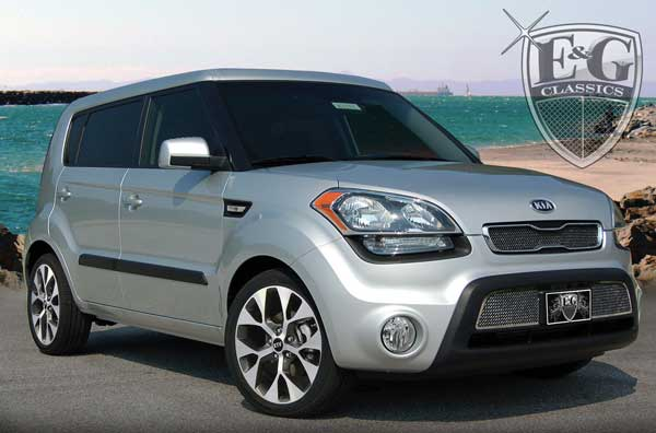 Kia Soul Black Ice Grille