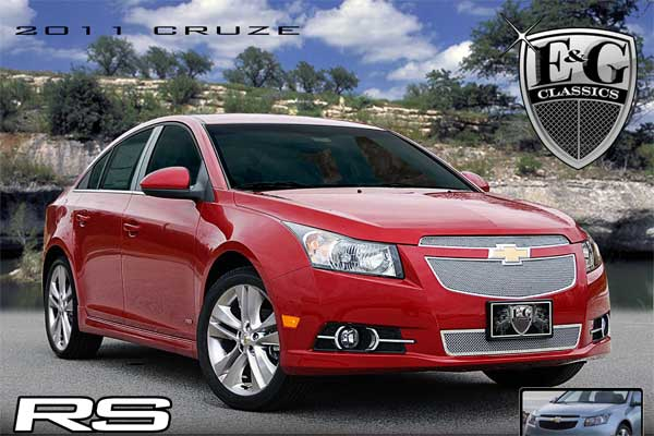 Chevrolet Cruze RS Mesh Grille