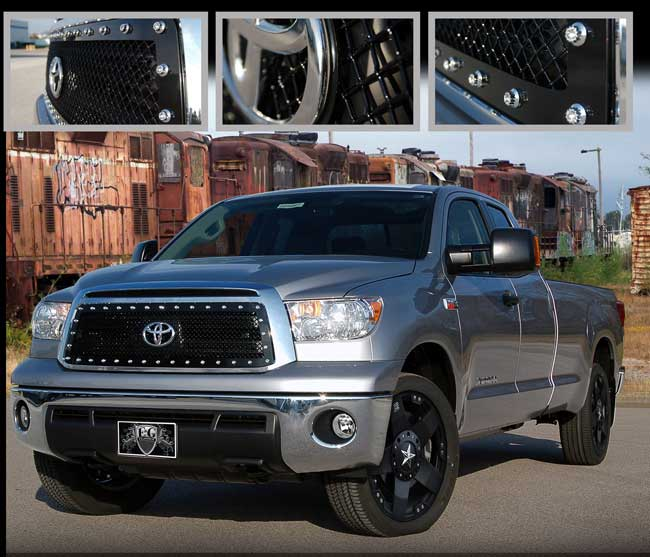 Toyota Tundra Black Mesh Grille