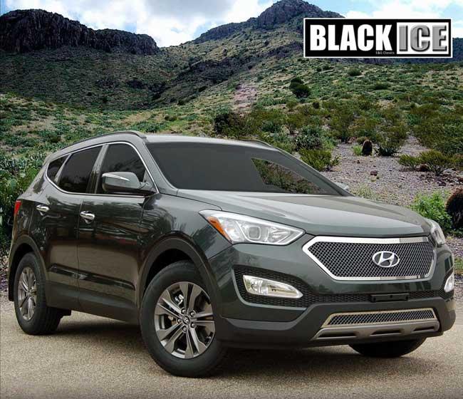 Hyundai Santa fe Black Grill Hyundai Santa fe Black Ice