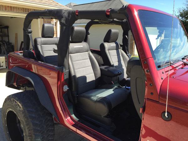 2012 Jeep Wrangler Katzkin Photos