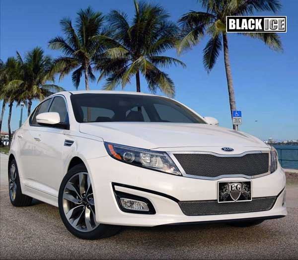 Kia Optima Black Ice Mesh Grille | 2014
