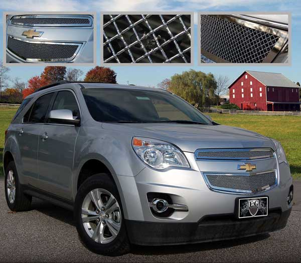 Chevrolet Equinox Chrome Mesh Grille, 2014