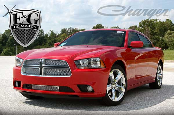 Doge Charger Chrome Mesh Grille