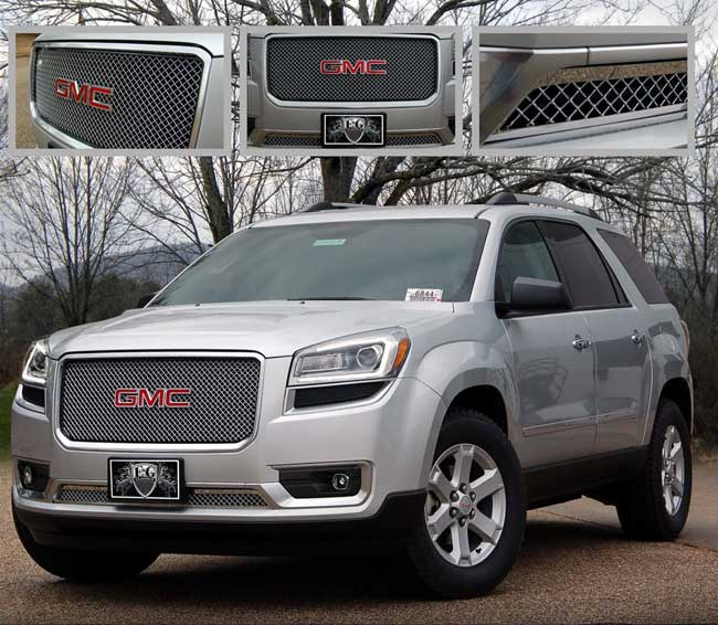 GMC Acadia Chrome Heavy Mesh Grille