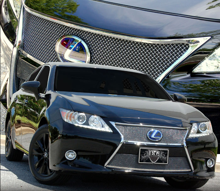 2014 Lexus Es 300h: Lexus ES 350 / 300H Stacked Fine Mesh Grille By E&G