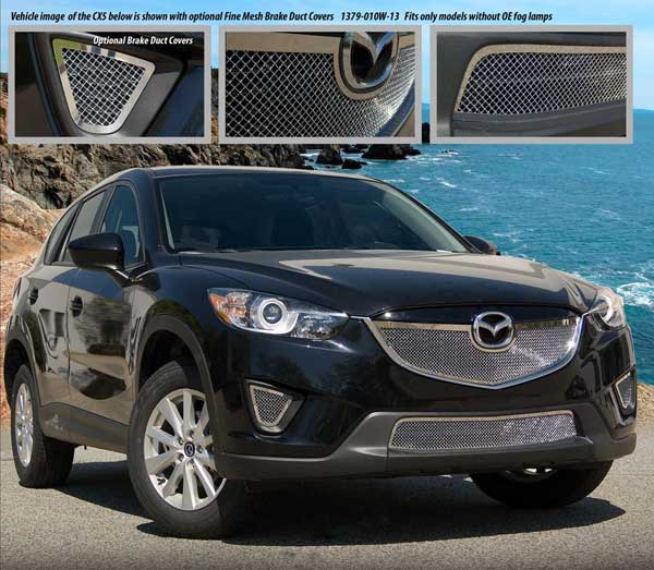 Mazda Cx 5 Fine Mesh Grille By E Amp G Classics 2013 2014 2015 Shopsar Com