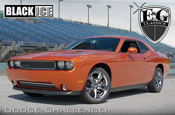 Dodge Challenger Black Ice Grille