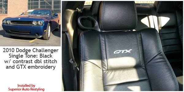 Dodge Challenger with Katzkin Leather