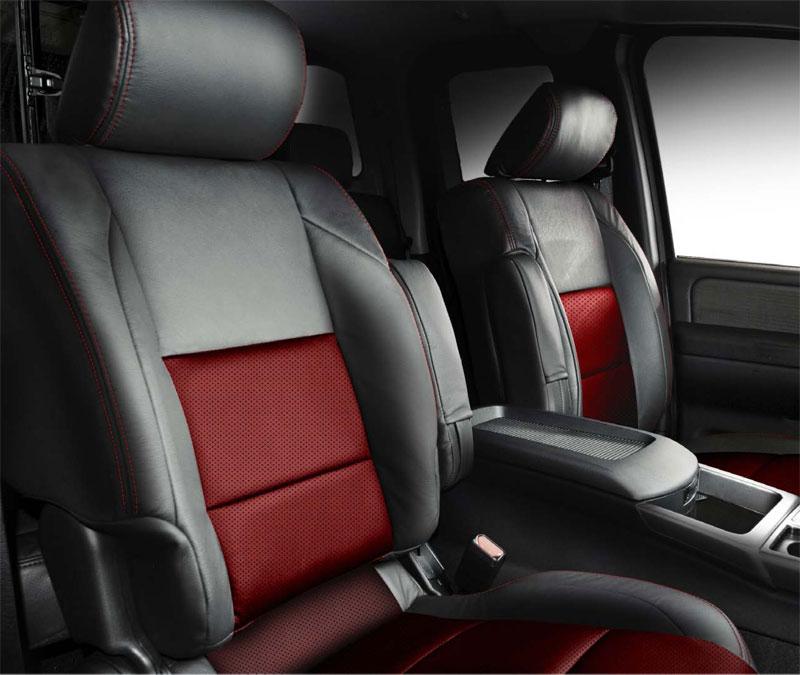 2014 Nissan Sentra Interior: Nissan Titan Katzkin Leather