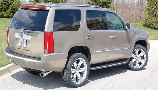 Cadillac Escalade Chrome Exhaust Tip