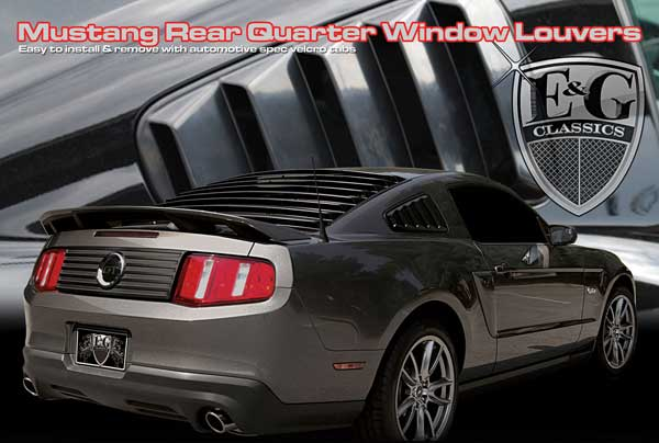 Ford Mustang Window Louvers