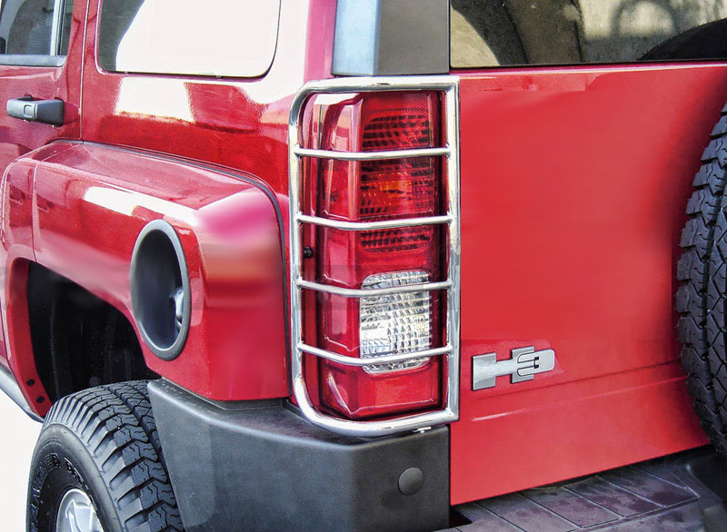 H3 tail light guards