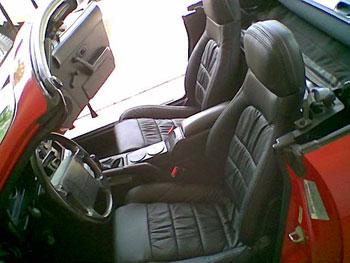 Mazda Miata Katzkin Leather Interior