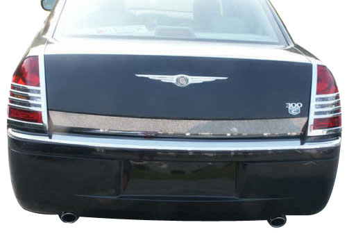 Chrysler 300 Chrome Rear Deck Trunk Trim 2005 2006 2007