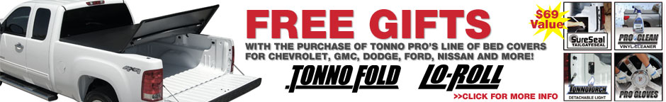 Free Gifts with Tonno Pro Purchase