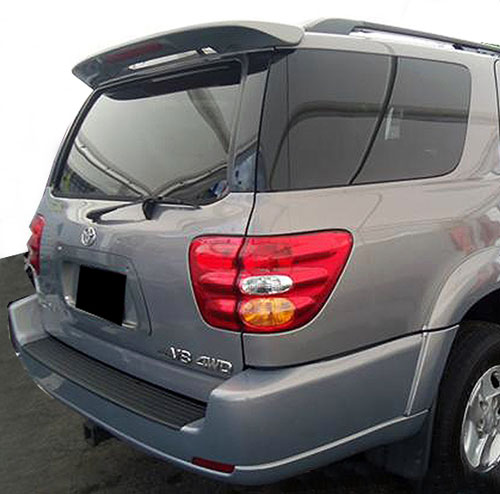 Toyota Sequoia Windshield Replacement Cost: Toyota Sequoia Painted Rear Spoiler (with Light), 2001