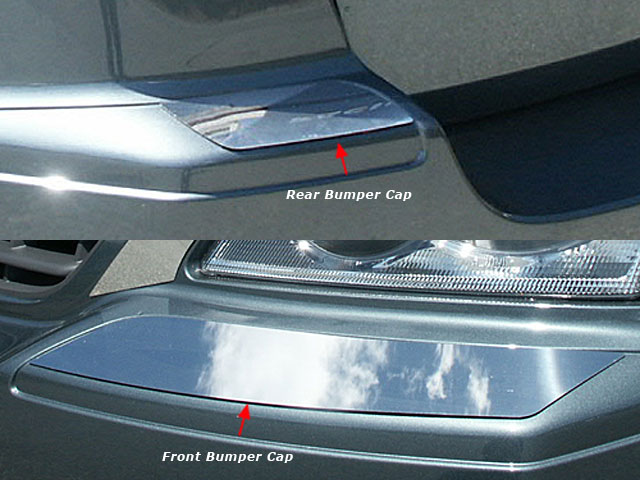 Pacifica Chrome Bumper Trim