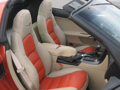 tzkin Chevrolet Corvette Leather