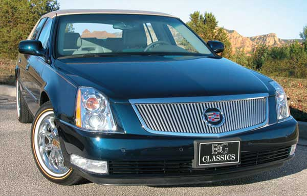 Cadillac DTS Vertical Bar Grille