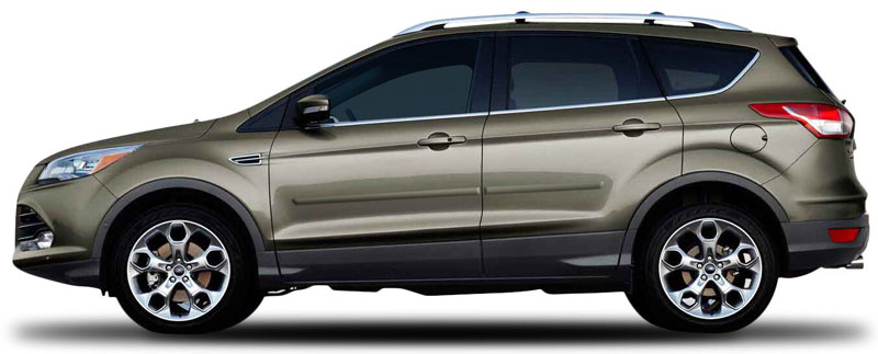 ford escape painted body side moldings       shopsarcom