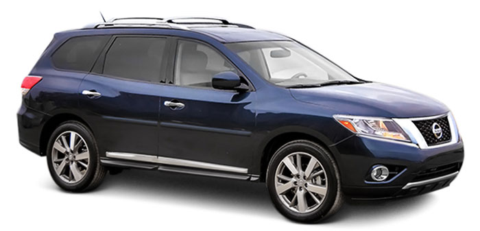 Nissan Pathfinder Painted Body Side Moldings 2013 2014