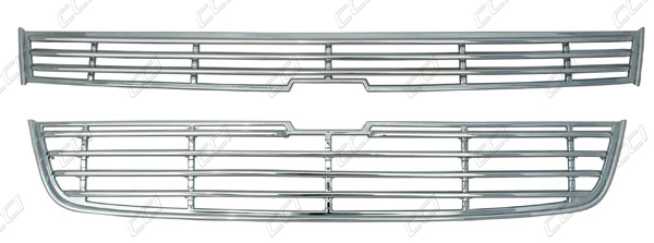 Chevy Colorado Chrome Grille Overlay