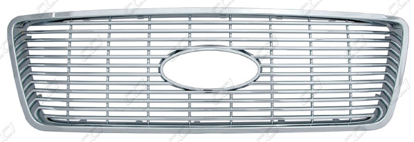 Ford F150 Chrome Grille Overlay