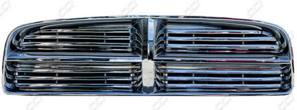 Dodge Charger Chrome Grille Overlay