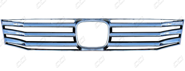 Honda Accord Chrome Grille Overlay