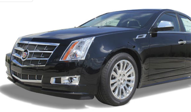 Cadillac CTS Chrome Grille Trim
