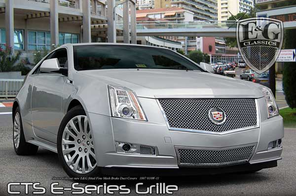 Cadillac CTS Heavy Mesh Grille