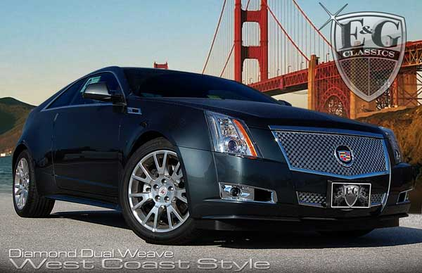 Cadillac CTS Dual Weave Mesh Grille